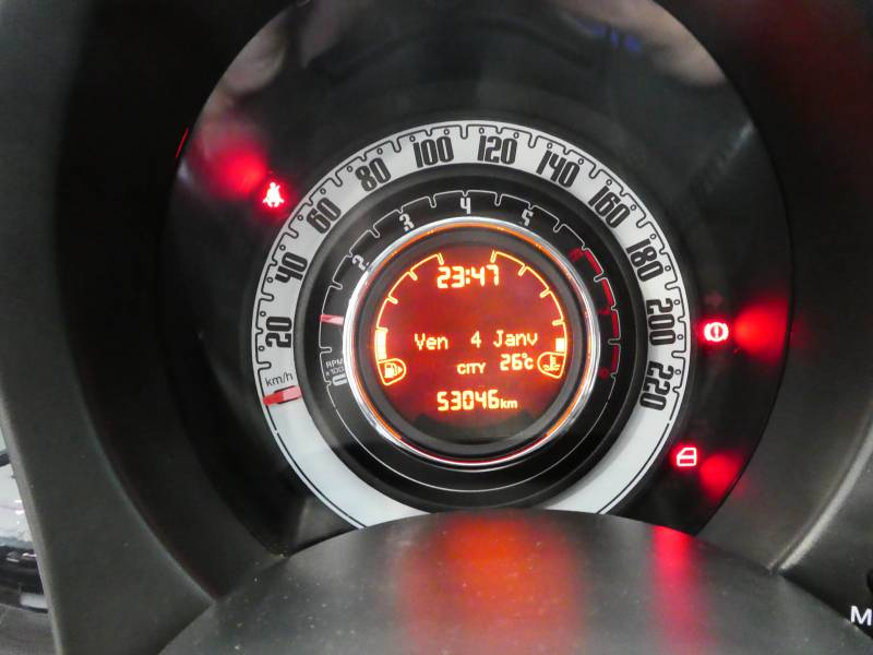 2014 FIAT 500C plein