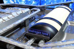 réservoir hydrogène voiture